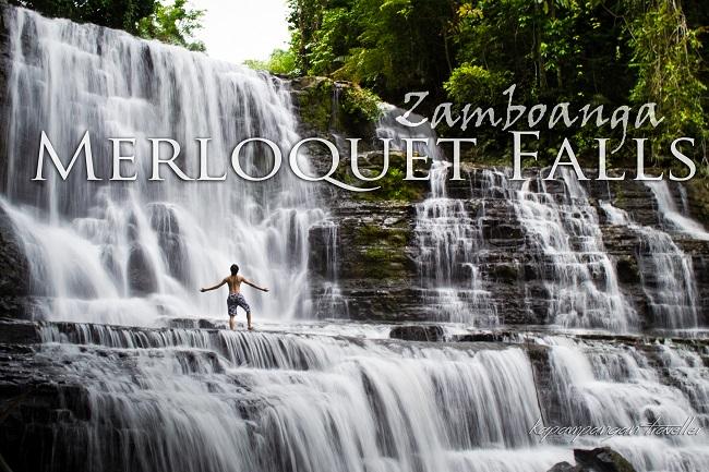 Merloquet Falls in Zamboanga City