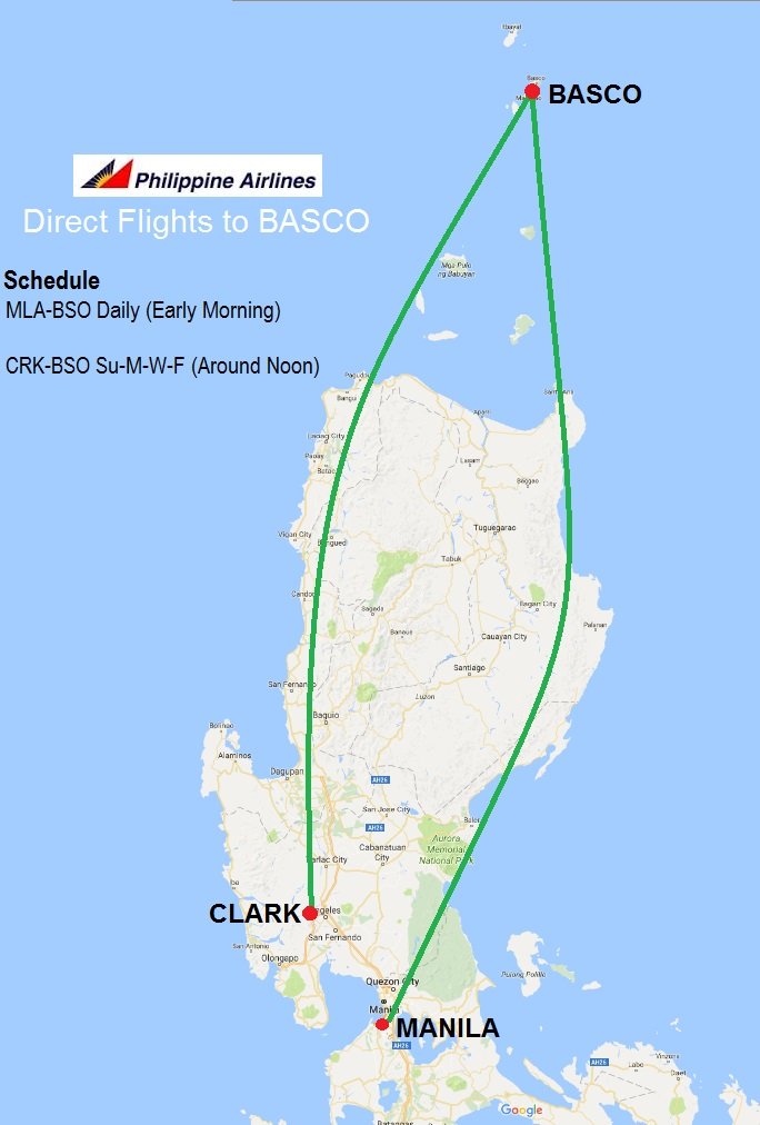 Philippine Airlines Clark to Basco Batanes Schedule and Route.jpg