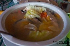 Blue Marlin in Soup
