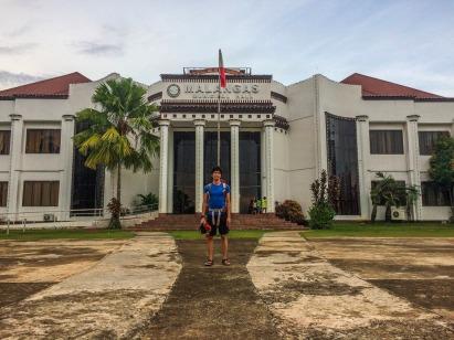 The Municipal Hall of Malangas Facade